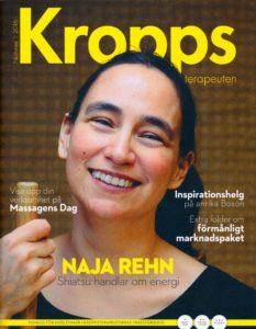 Cover Kroppsterapeuternas Yrkesförbund Nummer 1 2016
